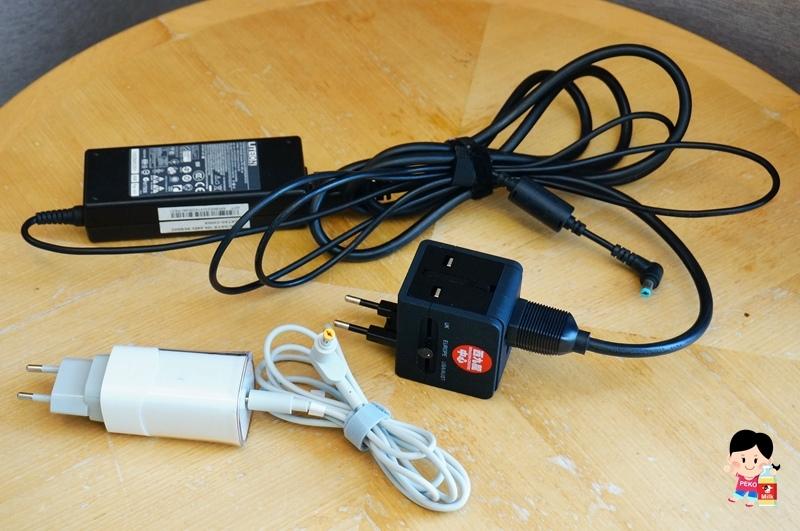 萬用插座.萬用轉接頭.旅行充電器.萬用筆電充電器.Innergie.PowerGear ICE65.台達電.旅行小物推薦.