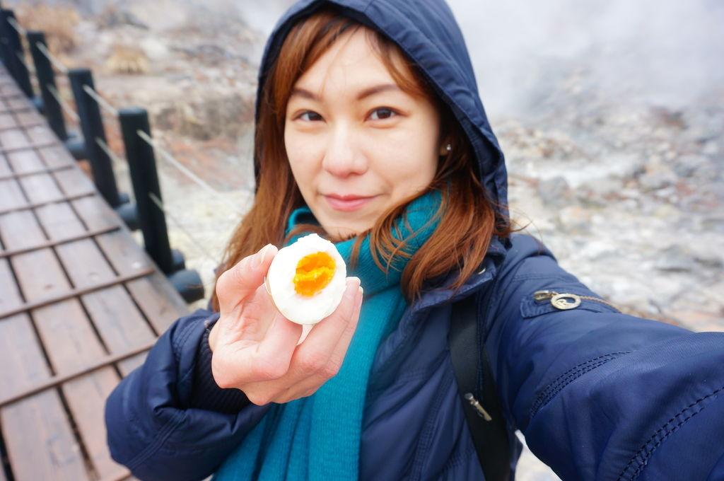 日本九州旅遊.九重町景點.小松地獄.大分九重町.秘湯溫泉.溫泉蛋.
