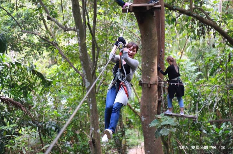 樹頂公園.Tree Top.飛越叢林.象島景點.Tree Top Adventure Park.象島自駕.樹冠冒險叢林飛躍.