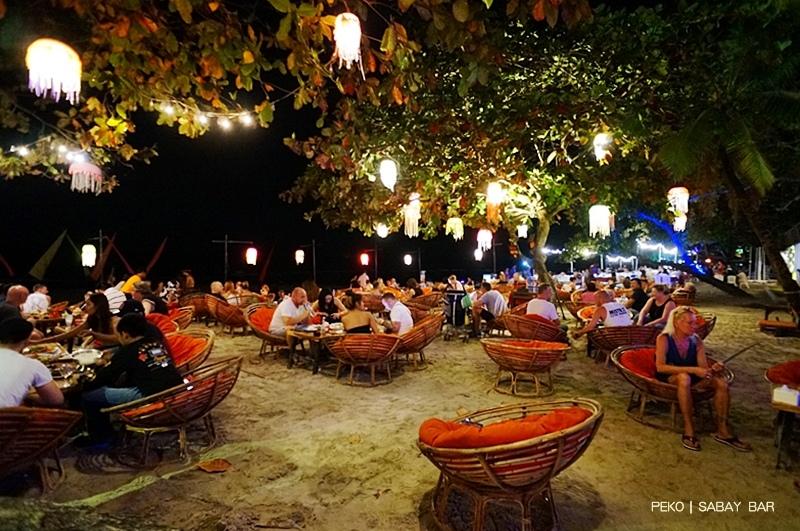 泰國.象島旅遊.象島美食.火舞餐廳.SABAY BAR.白沙灘.海邊酒吧.KOH CHANG.火舞秀.象島火舞.