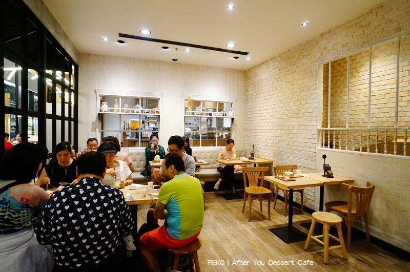 泰國刨冰.After You Dessert Cafe.曼谷美食.曼谷蜜糖吐司.曼谷咖啡廳.焙茶糯米刨冰.曼谷甜點.