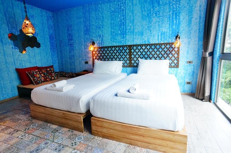 Tints of Blue Hotel.曼谷飯店.曼谷住宿.Asok站飯店.曼谷藍調酒店.