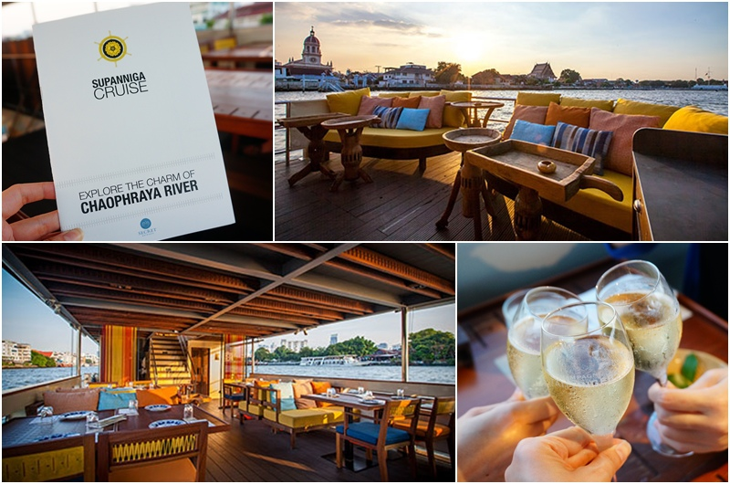 昭披耶河遊船.曼谷景點.曼谷夜景.湄南河遊船.泰國美食.