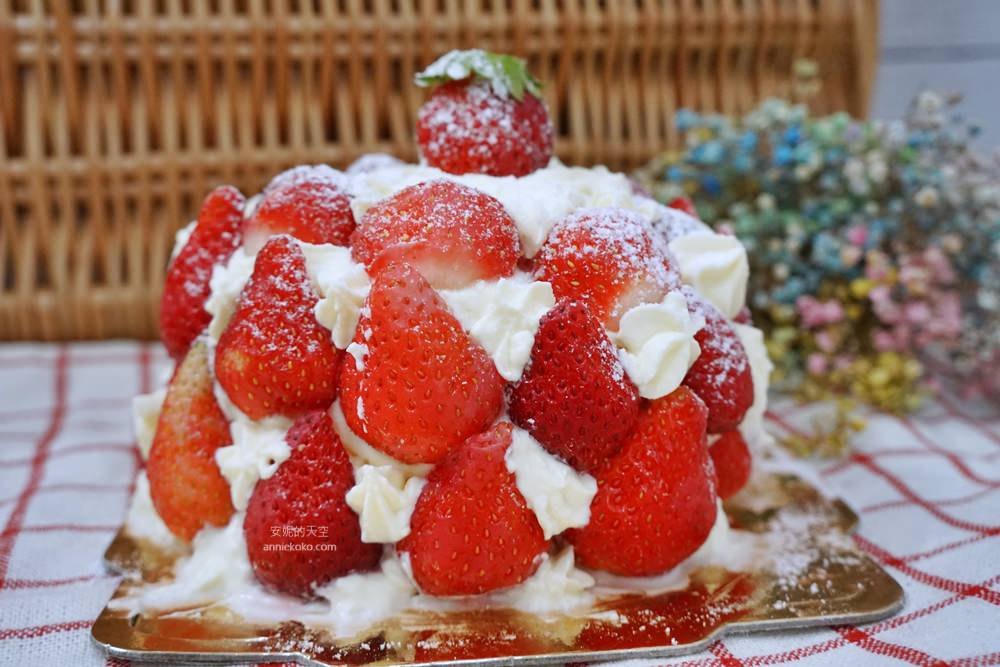 新莊美食.日月香蛋糕店.草莓芋泥泡芙.草莓蛋糕.新莊甜點.芋泥泡芙.草莓泡芙.草莓聖代蛋糕.日月香草莓蛋糕.