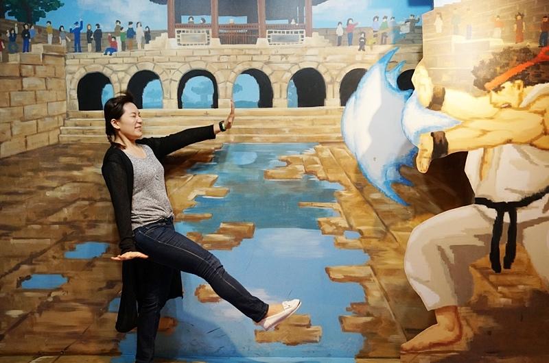 愛來魔相.愛來魔相4D藝術館.智勇迷宮.仁寺洞景點.首爾自由行.仁寺洞.首爾景點.韓國景點.韓國自由行.