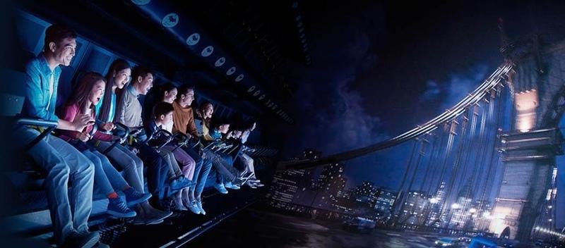 新濠影匯.8字摩天輪.4D蝙蝠俠.傳奇英雄科技城.華納滿fun童樂園.飛力高彈翻床.澳門秀屋.