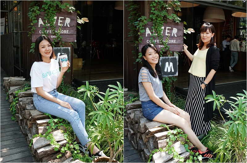 HOUSE OF BTS.防彈少年團快閃店.BTS快閃店.Alver cafe.首爾咖啡廳.江南咖啡廳.