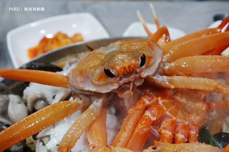 熱海.열해.江陵美食.安木海邊.海鮮鍋.江原道美食.熱海菜單.紅蟹.安木海邊美食.