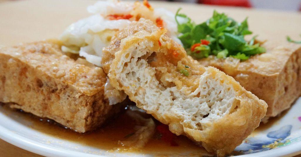 中和臭豆腐.中和美食.蕭家下港脆皮臭豆腐.福和宮美食.中和站美食.中和廟街美食.