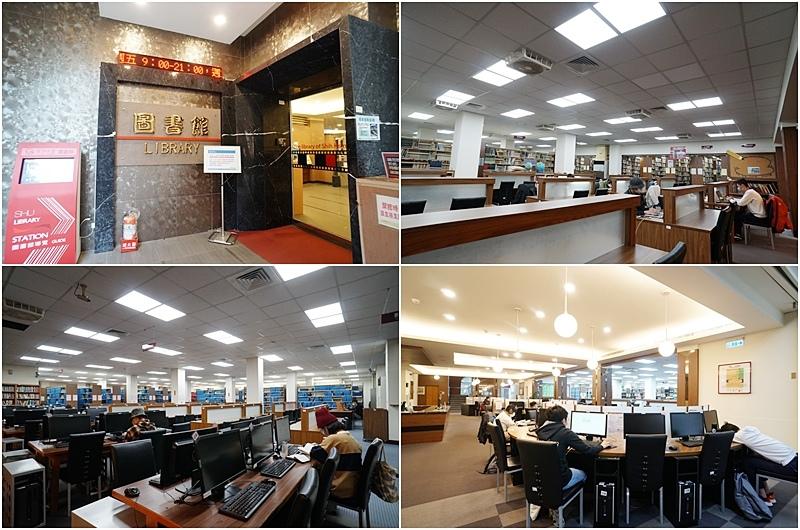 世新資管系學生可以盡情使用學校提供的優質圖書館
