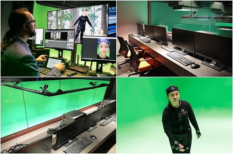 世新資管學生也能使用全媒體大樓的專業器材