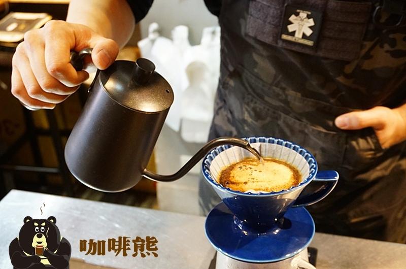 永和咖啡廳.咖啡熊.永安市場咖啡.永安市場美食.咖啡熊菜單.手沖咖啡.