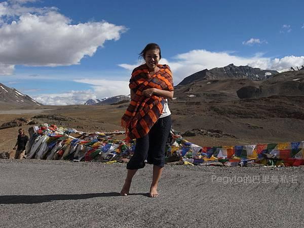 北北印度。Manali往Leh公路
