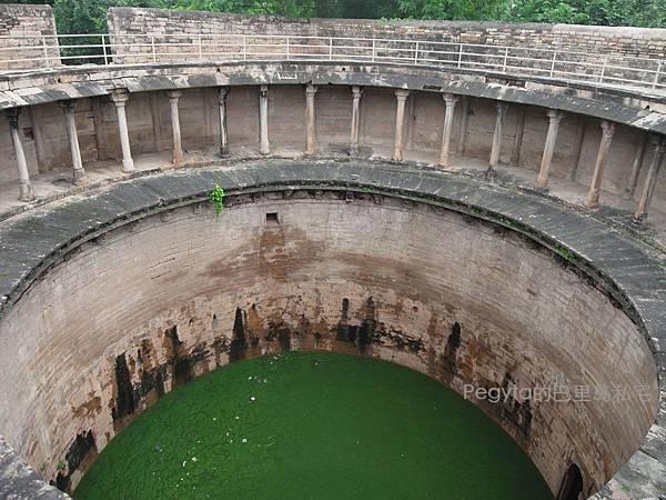 印度。Gwalior城堡