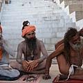 印度恆河苦行者