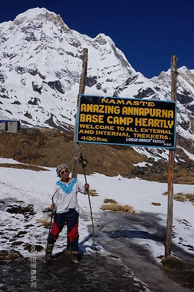 尼泊爾ABC健行