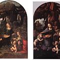 兩張達文西的岩窟聖母