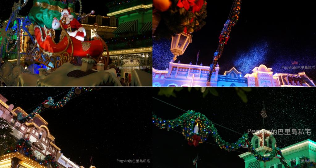 美國迪士尼樂園過聖誕、辦婚禮