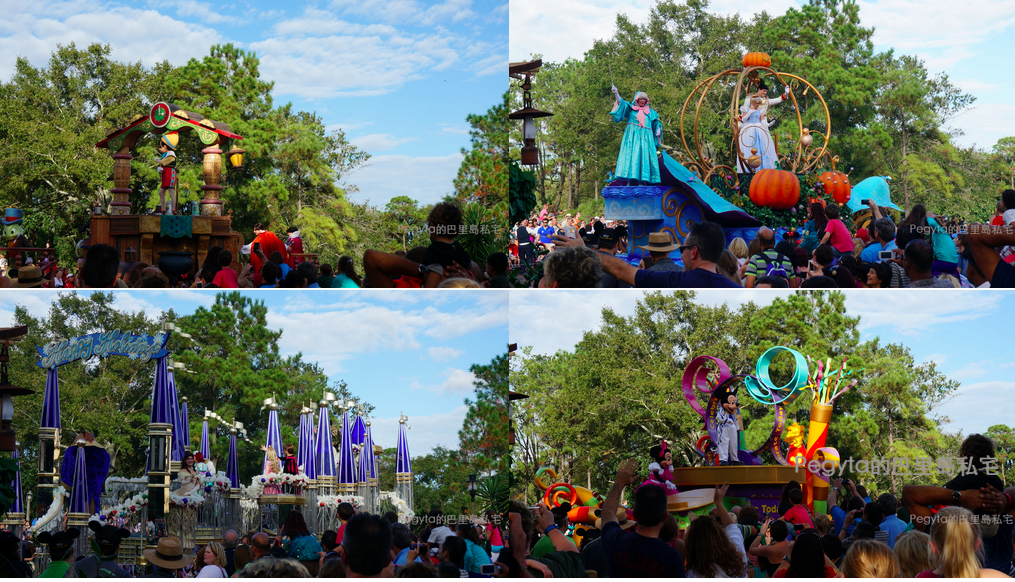 奧蘭多迪士尼樂園花車遊行
