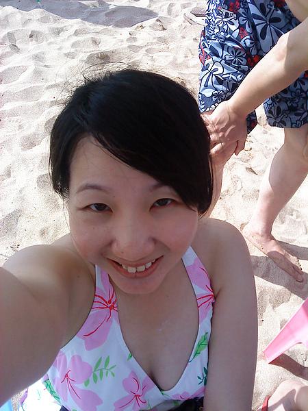 墾丁的海灘