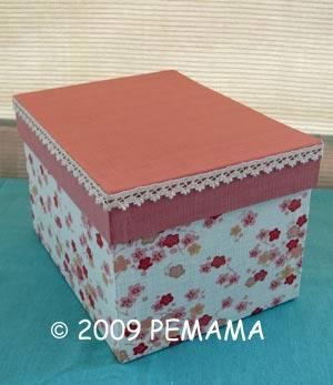 櫻花藥罐布盒
