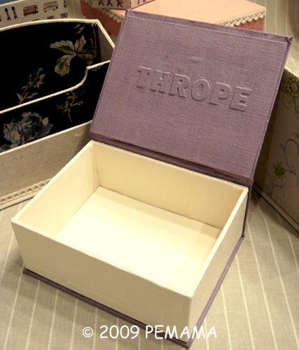 蒲公英書型布盒