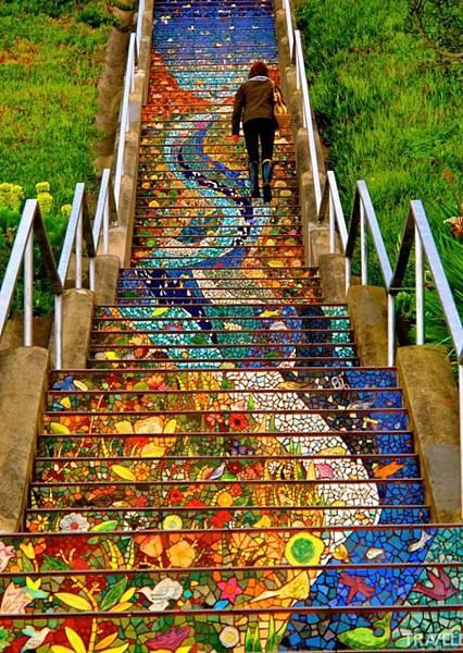 漂亮的階梯