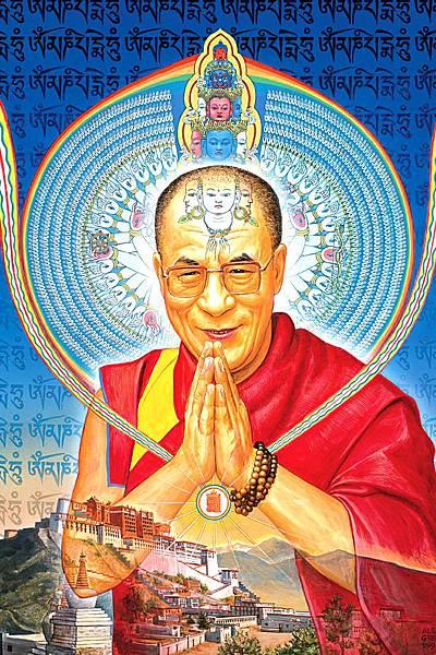 千手觀音達賴喇嘛