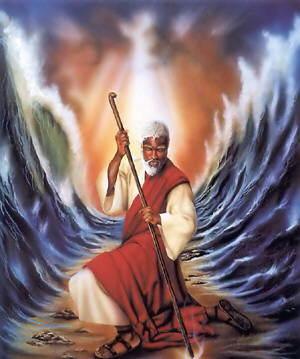 摩西分紅海
