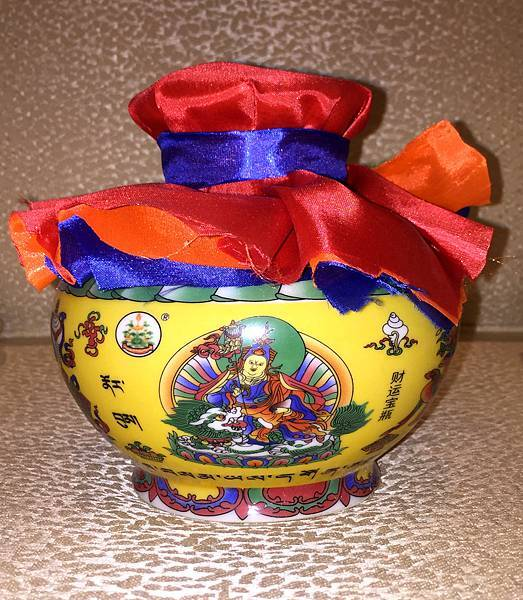 桑耶寺蓮師財神寶瓶