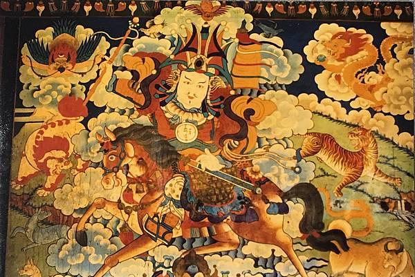 楚布寺的格薩爾王壁畫.jpg