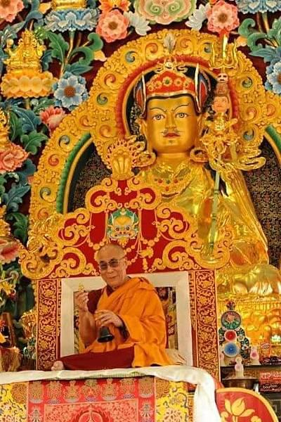 達賴喇嘛與蓮師.JPG