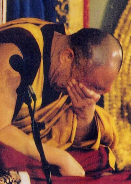 達賴喇嘛的中脈孔大小如豆干非常的明顯.jpg