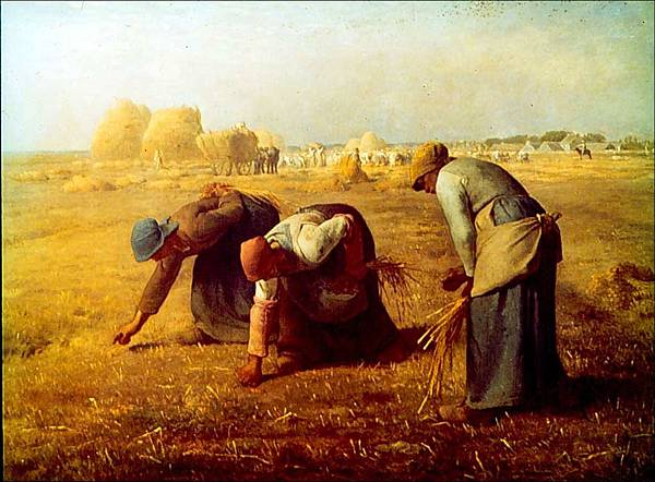Millet《The Gleaners, 1857》.jpg