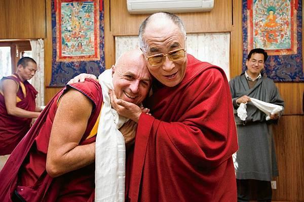 達賴喇嘛與Matthieu Richard.jpg