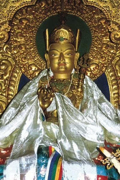 不丹虎穴寺會說話的蓮師.jpg