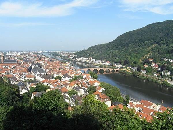 海德堡俯看老城區