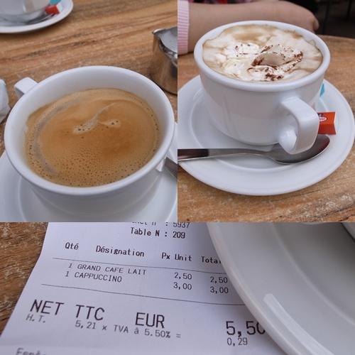 露天咖啡座享受休閒時光