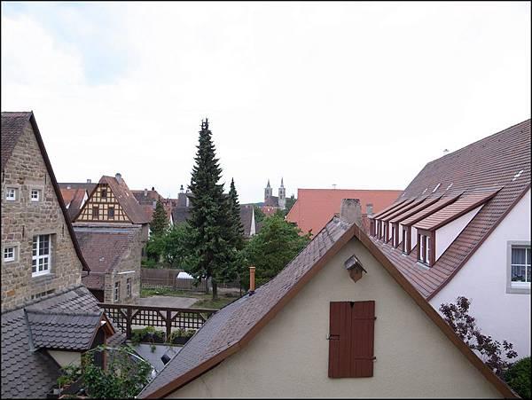 城牆上的風景