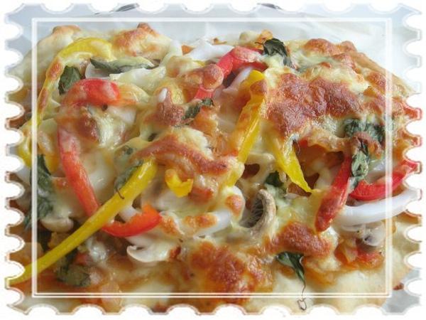義式蕃茄薄披薩