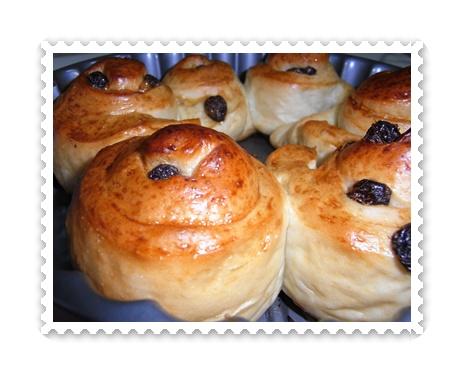 葡萄小麵包