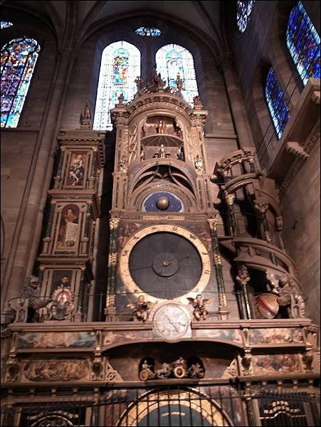 聖母院天文鐘