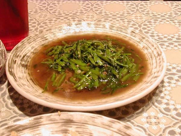 緬式蝦醬空心菜
