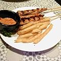 碳烤雞柳串
