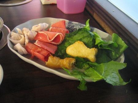 對身體過意不去 吃點菜意思一下安個心
