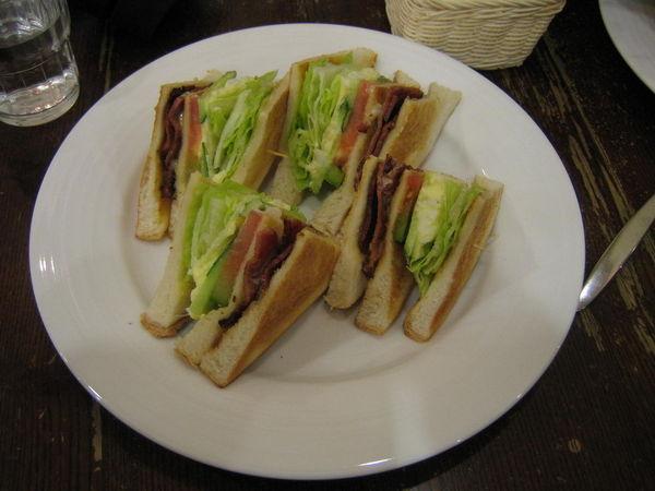 Melange Coffe/培根三明治
