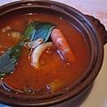 海鮮蕃茄湯三