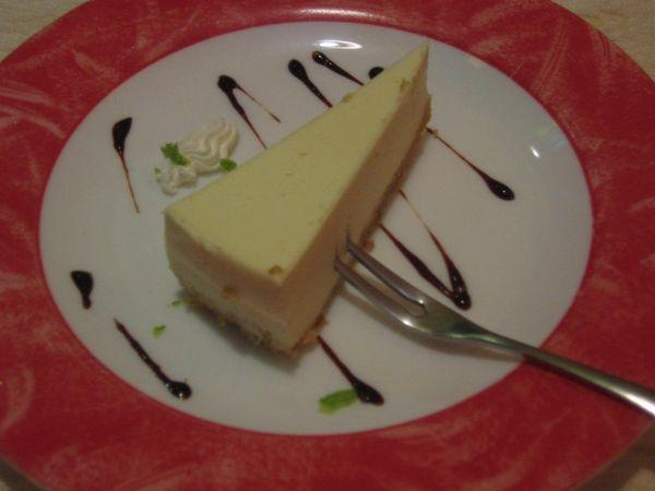 甜點(起司蛋糕)