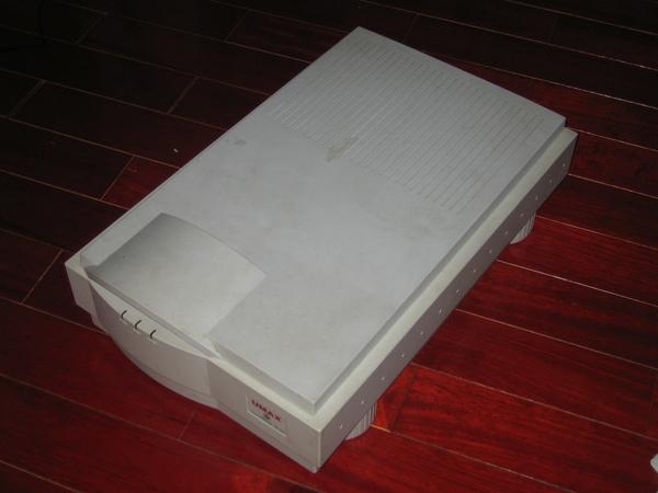 UMAX保證古董掃瞄器