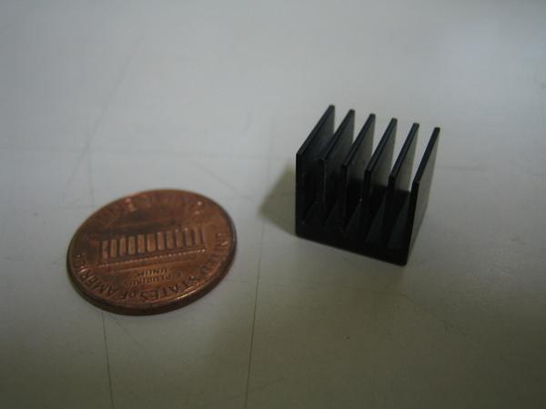 記憶體或晶片的散熱片